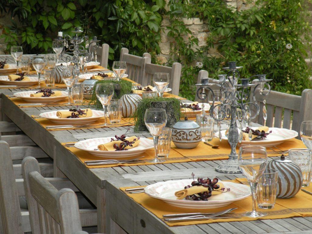l'Ancien Mas Bouzige : table 2