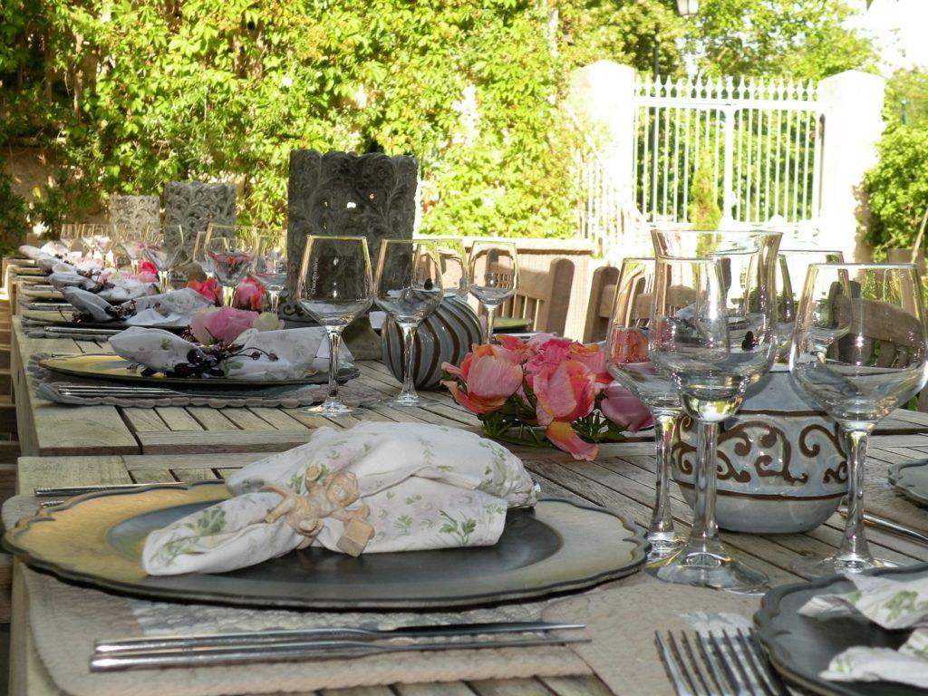 l'Ancien Mas Bouzige : table 3